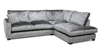 Dynasty Formal Back Left Hand Facing Arm 3 Seat Corner Sofa
