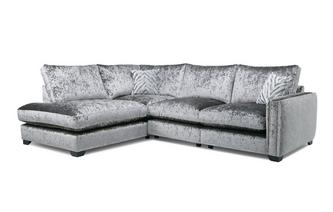 Formal Back Right Hand Facing Arm Seat Corner Sofa Dynasty