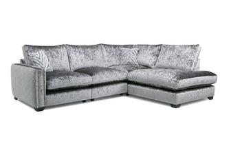 Formal Back Left Hand Facing Arm 2 Seat Corner Sofa Dynasty