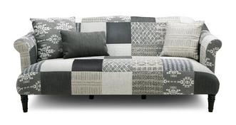 Earle Patch 3 Seater Sofa