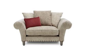 Pillow Back Cuddler Sofa