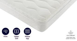 Eco 4ft 6 Double Cushion Top Mattress