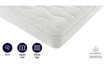 5ft King Cushion Top Mattress Silentnight Mattress