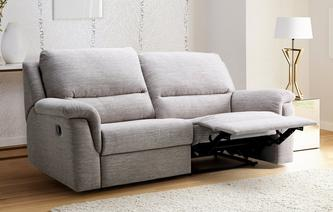 Edenite 3 Seater Manual Recliner Amore