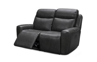 2 Seater Power Recliner with Headrests