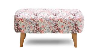 Ella Small Pattern Bench Stool