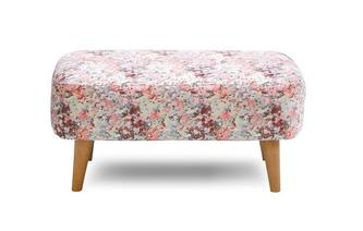 Small Pattern Bench Stool