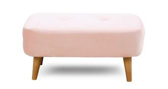 Ella Small Plain Bench Stool