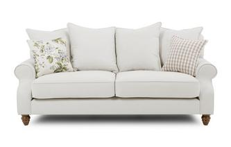 Plain 3 Seater Sofa