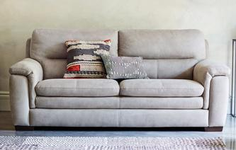 Elm Fabric 3 Seater Sofa Express Arizona