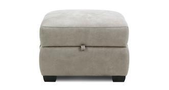 Elm Fabric Storage Footstool