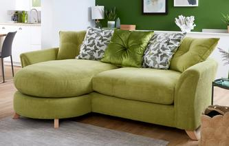 Eloise Pillow Back 4 Seater Lounger Sofa Eloise