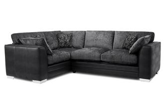 Formal Back Right Hand Facing Supreme Corner Sofa Bed