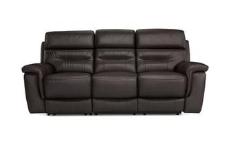 Emmett 3 Seater Power Plus Recliner Premium