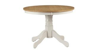 Evesham Round Pedestal Dining Table