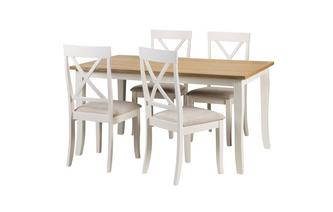 Extending Table & 4 Chairs