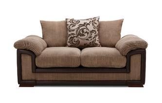 Large 2 Seater Pillow Back Sofa