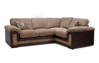 Left Hand Facing Formal Back Corner Deluxe Sofa Bed