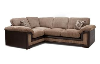 Right Hand Facing Formal Back Corner Deluxe Sofa Bed