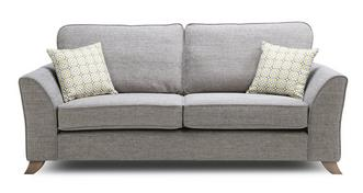 Fenton Formal Back 3 Seater Sofa