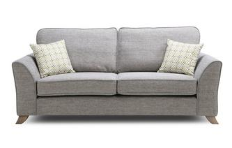 Formal Back 3 Seater Sofa Fenton