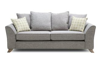 Pillow Back 3 Seater Sofa Fenton