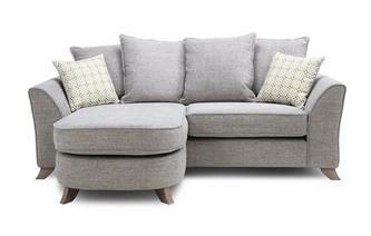 Pillow Back 3 Seater Lounger Fenton
