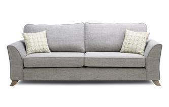 Formal Back 4 Seater Sofa Fenton