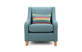 Accent Chair with 1 Pattern Bolster Revive