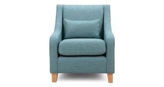 Finn Accent Chair with 1 Plain Bolster