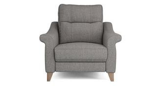 Flair Fabric A Power Recliner Cuddler