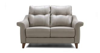 Flair Leather P 2 Seater Fixed Sofa