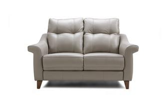 Leather P 2 Seater Fixed Sofa Ergo Leather P