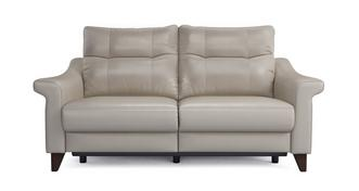 Flair Leather P 3 Seater Power Recliner