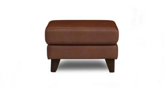 Flair Leather N Footstool