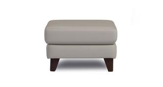 Flair Leather P Footstool