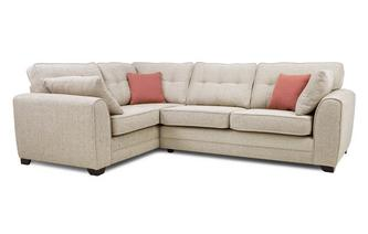 Right Hand Facing 3 Seater Deluxe Corner Sofa Bed