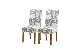 Floral Dining Chair Set of 2 Floral Dining Chairs Floral Chair