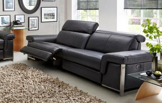 Focal 3 Seater Manual Recliner Commander