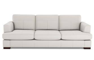 Leather 4 Seater Sofa