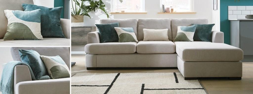 Pleasant Freya Left Hand Facing 2 Piece Corner Deluxe Sofa Bed Machost Co Dining Chair Design Ideas Machostcouk
