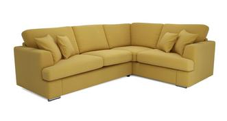 Freya Left Hand Facing 2 Piece Corner Deluxe Sofa Bed