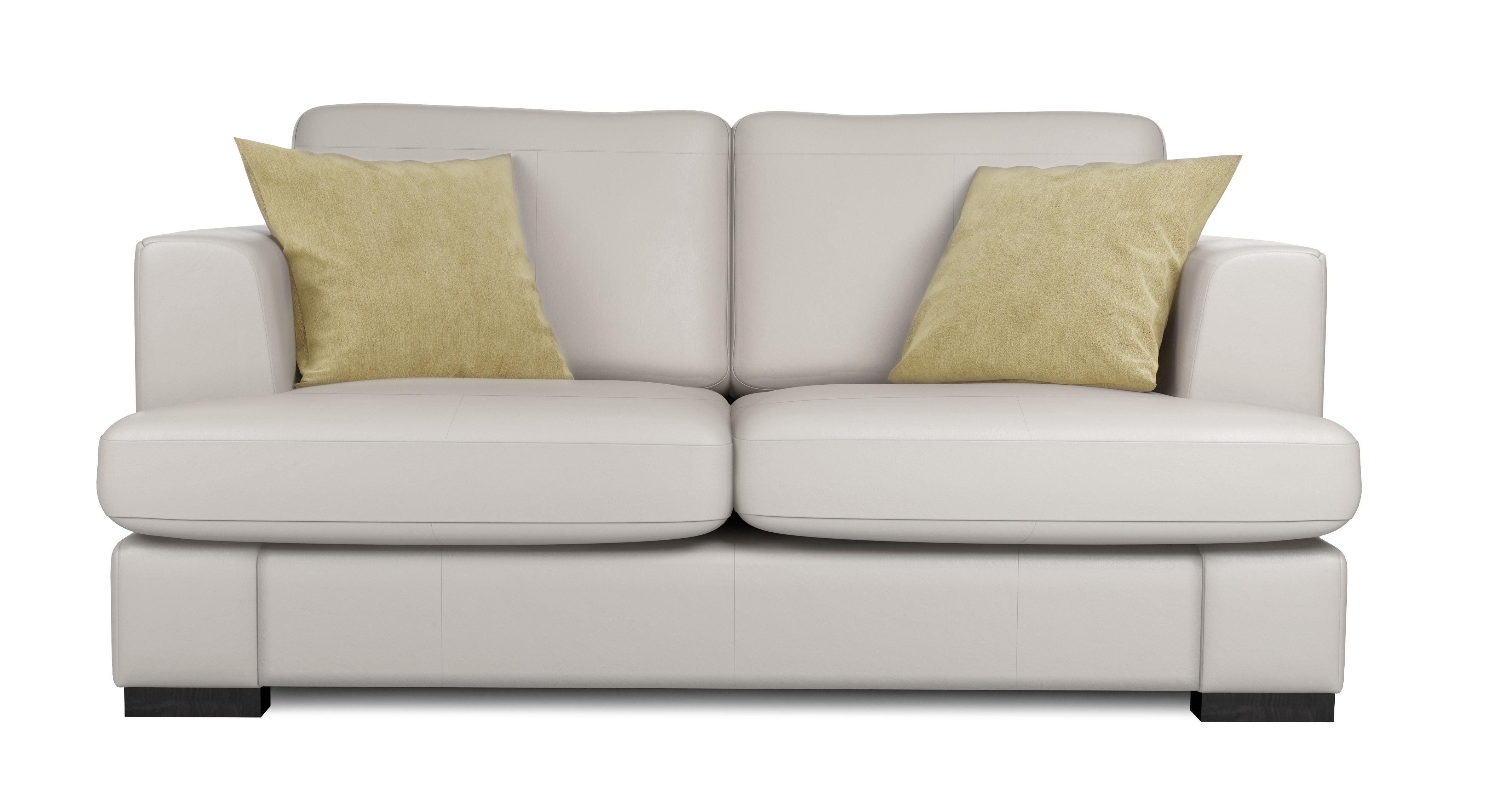 Phenomenal Freya Leather 2 Seater Sofa Machost Co Dining Chair Design Ideas Machostcouk