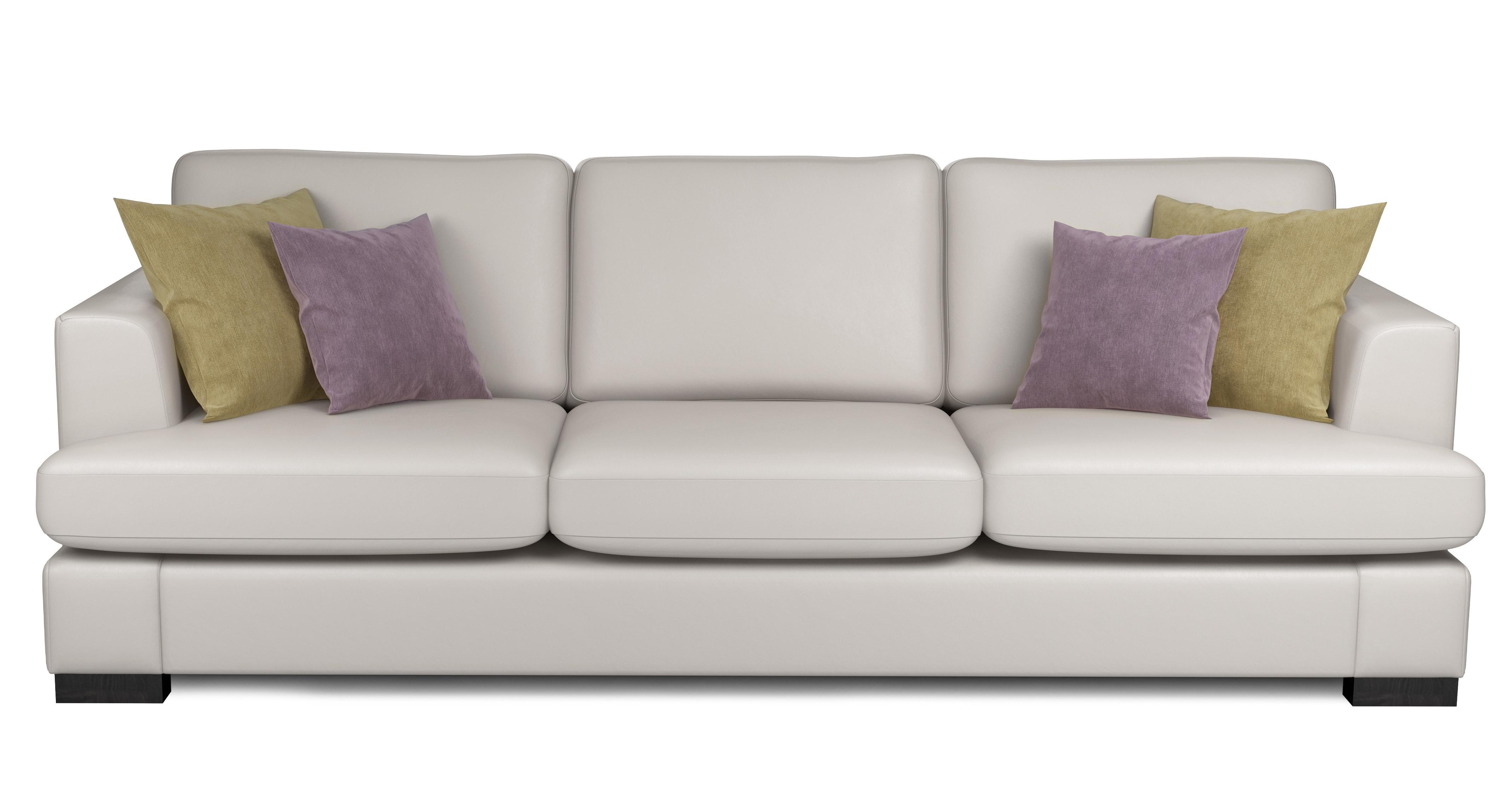 Peachy Freya Leather 4 Seater Sofa Machost Co Dining Chair Design Ideas Machostcouk