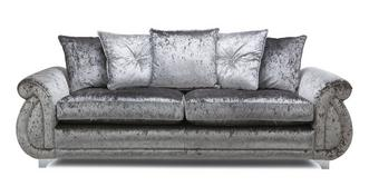 Gabriella Pillow Back 4 Seater Sofa