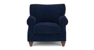 Galloway Velvet Armchair