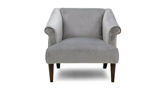 Globe Velvet Accent Chair
