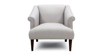Globe Plain Accent Chair