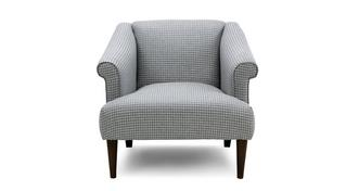 Globe Houndstooth Accent Chair