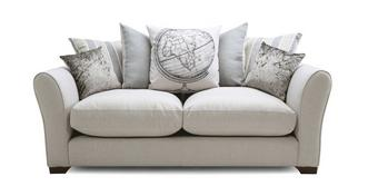 Globe Pillow Back Small Sofa